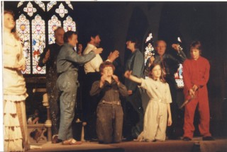 One of the scenes in the Pageant