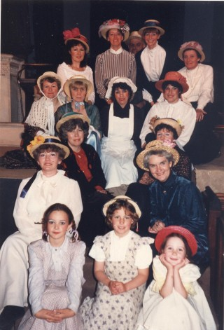 Female members of the cast