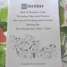 A slim version of the Roll of Honour. A few copies were published in November 2016 and given to places as the Public Library.