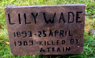 Memory stone for Lily Wade