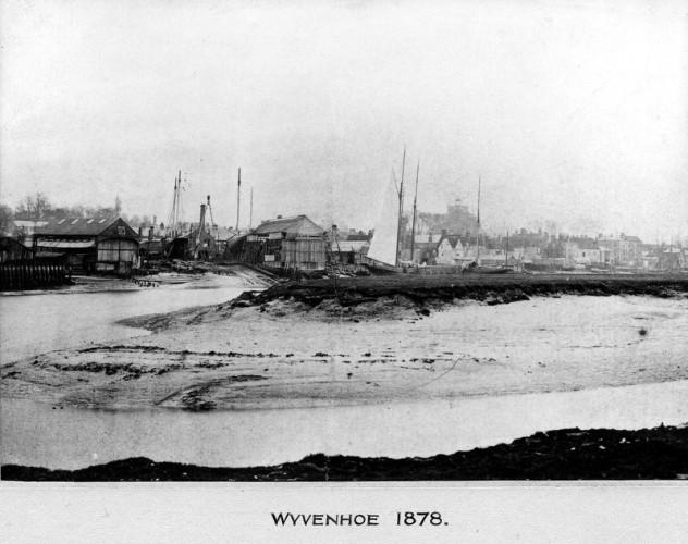 Harvey's shipyard in 1878