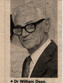 Dr Wiliam Dean, Doctor in Wivenhoe for nearly 50 years (died Feb 1996)