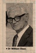 Dr William Dean who died February 1996 | Essex County Standard