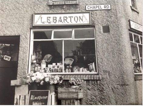 The original Barton stores in the High Street | Linda Panton / Wivenhoe Memories Collection