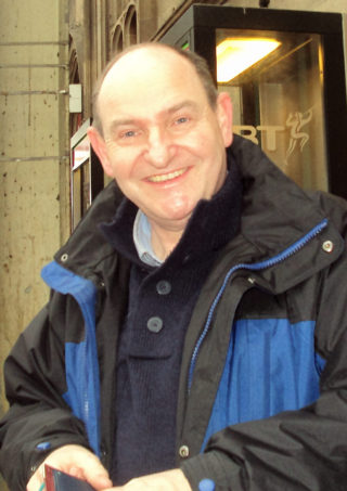 Neil Johnson, born in Ernest Road but now living in Dumfries, Scotland