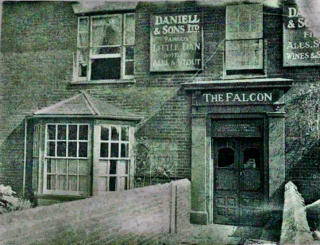 The front of The Falcon hotel in the High Street | Helen Douzier nee Helliwell