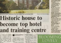 Historic House to become top hotel