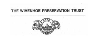 The logo and letterhead adopted by the Wivenhoe Preservation Trust