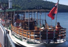 The Steamer 'Tern' at Windermere