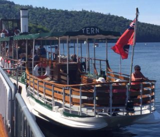 The Steamer 'Tern' at Windermere, May 2017 | Pat Marsden