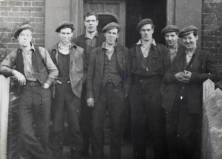 Irish Workers staying at the Falcon who worked at J W Cook Shipyard | Helen Douzier