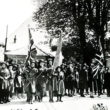 Girl Guides on Parade in 1935
