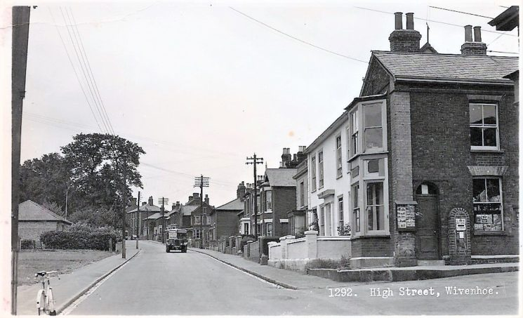 The High Street in the 1940s