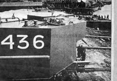 The building of parts of the WWII Mulberry Harbour in Wivenhoe