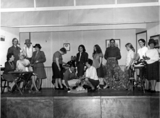 The first Wivenhoe Players production in 1969 - The Great Day
