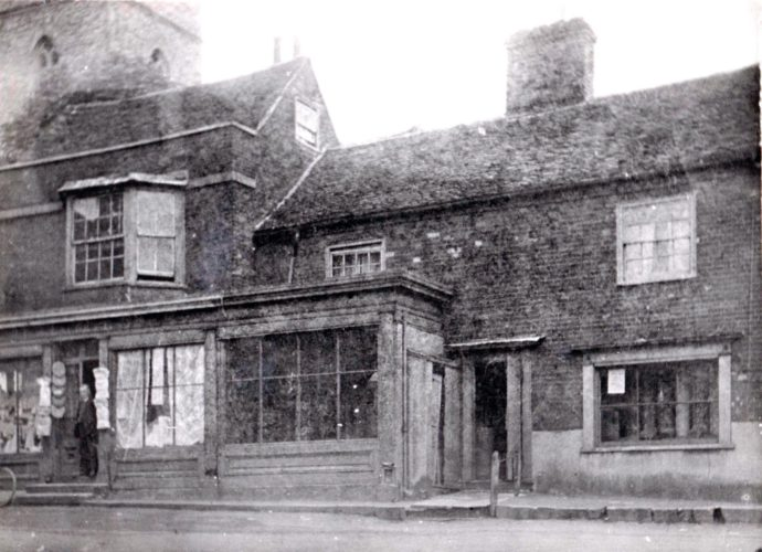 An early picture of the London House Stores in Anchor Hill | Wivenhoe Memories Collection