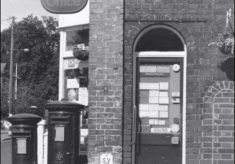 Laurel and Hardy post boxes