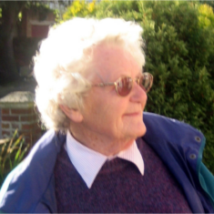 Daphne King, resident of Mary Ann Sanford Almshouses who died in June 2014 | Peter Hill