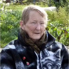 Daphne Meyers, resident of Mary Ann Sanford Almshouses since  July 2017 | Peter Hill