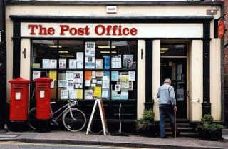 The 'new' Post Office in the High Street - 1996 | Photograph by Sue Murray ARPS