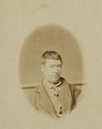 Berkley Sainty prison record photo. 1870.