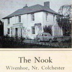 Sale catalogue for The Nook circa 1950s   Wivenhoe Memories Collection