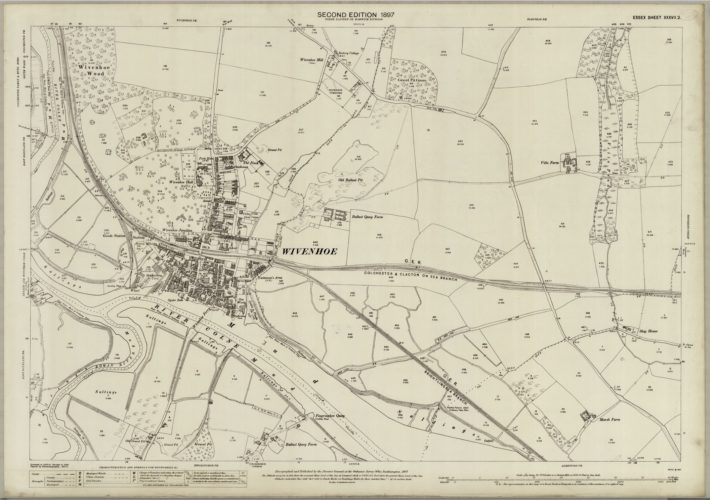 Ordnance Survey Map XXXVII.2 1897 | Reproduced by permission of the National Library for Scotland