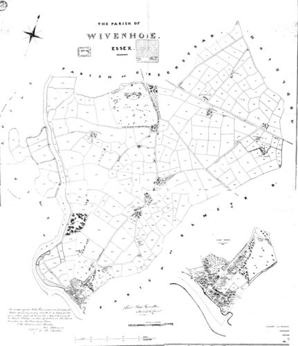 Wivenhoe Tithe Map