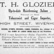 Glozier's Hairdressers and Tobacconists