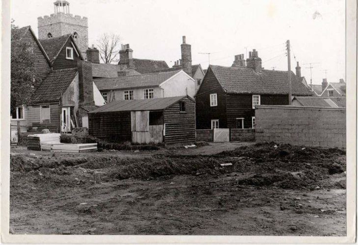 View from the bottom of Blyth Lane | Wivenhoe Memories Collection