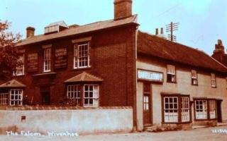 No. 36 High Street, Church Cottage and Garden House (dating from the 15c.) Formerly the Falcon hotel. | Wivenhoe Memories Collection