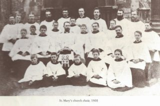 St Mary's Church Choir 1905   Wivenhoe Memories Collection