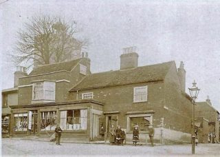 Arthur Garrett's drapers store at No. 2 High Street Wivenhoe in the early 1900s | Wivenhoe Memories Collection