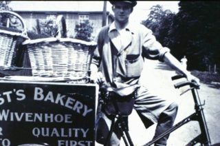 Last's the Bakers trade bike | Wivenhoe Memories Collection
