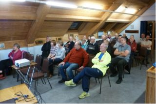 People at the History Group meeting on 17th October 2018 | Peter Hill