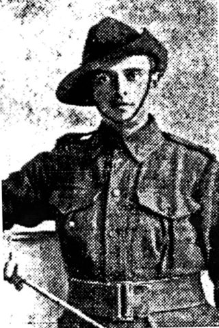 Killed in action 25th April 1915