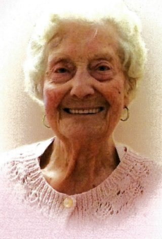 Florence Annie Yates who died on 8th September 2018 aged just 100 years.