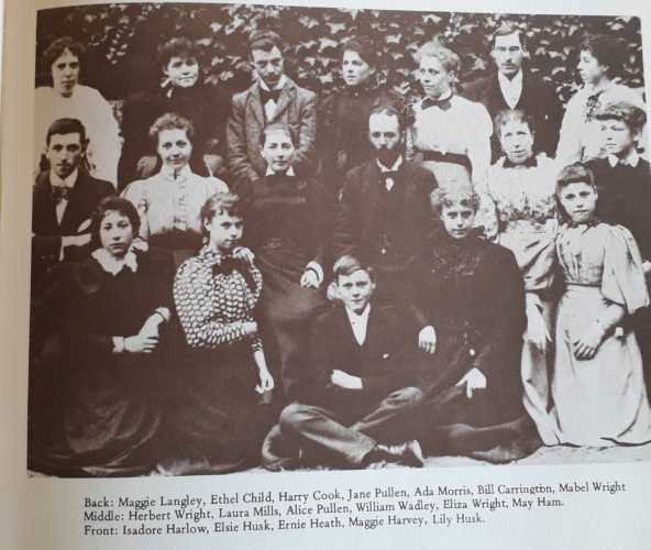 Wivenhoe Teachers 1898 | Essex County Standard