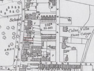 Plan of 82 High Street in 1896 (marked in red) | Added by Pat Marsden