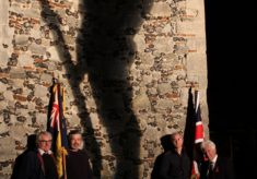 How Wivenhoe on 11th November 2018 commemorated the ending of WW1 100 years ago