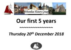 Wivenhoe History Group's First 5 Years