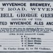 Wyvenhoe Brewery, Paget Road 1867