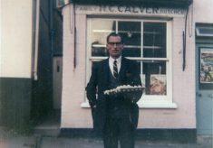Calver's Butcher Shop in the High Street