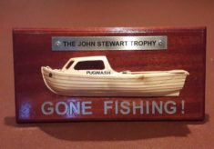 The John Stewart 'Gone Fishing' Memorial Trophy