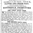 Wivenhoe House Sale of Effects 1856