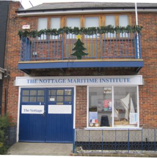 The Nottage on the Quay, all dressed up for Christmas | The Nottage Maritime Institute