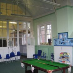 Wyvenhoe Board School: the eastern hall | Margie North