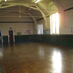 Wyvenhoe Board School: the western hall | Margie North