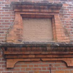 Wyvenhoe Board School: the original inscription | Pat Marsden