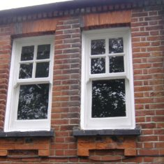 Wyvenhoe Board School: two of the smaller windows | Pat Marsden